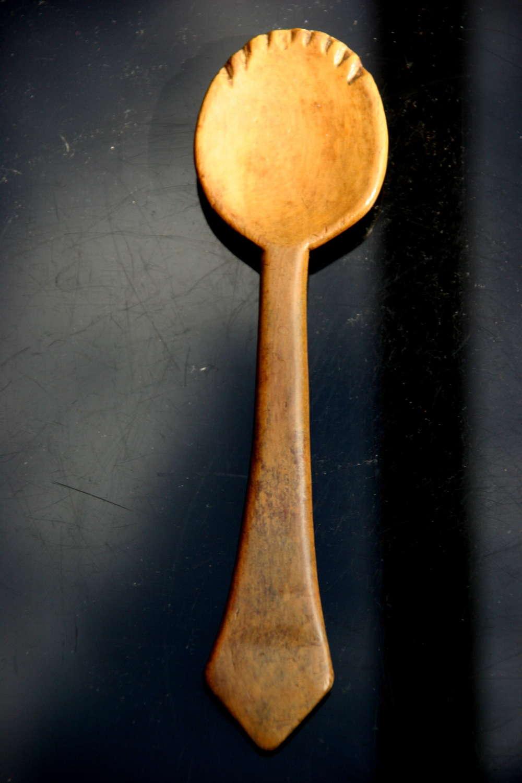 Treen  Spoon 19th century