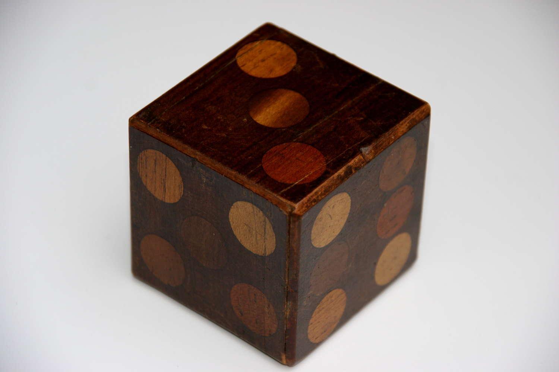 Treen Puzzle Dice