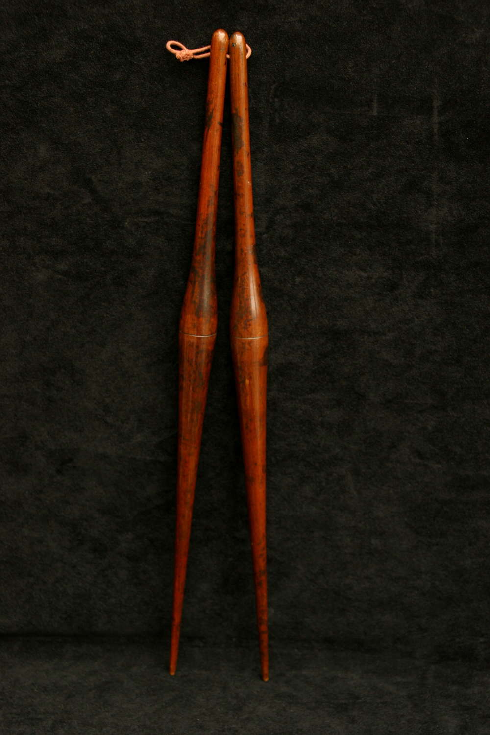 Treen Ladies Mahogany Glove Stretchers 18th century