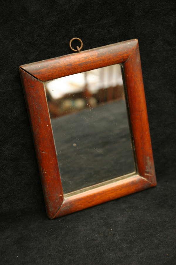 Small Mahogany framed Mirror