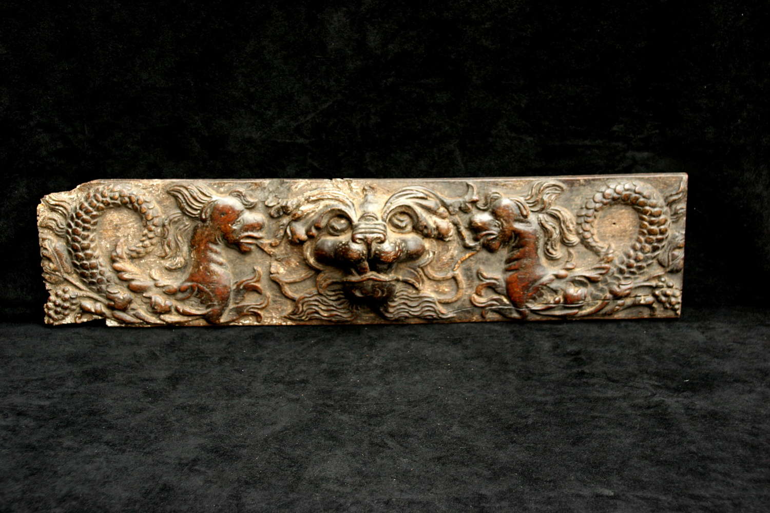 17th century  Oak Carving
