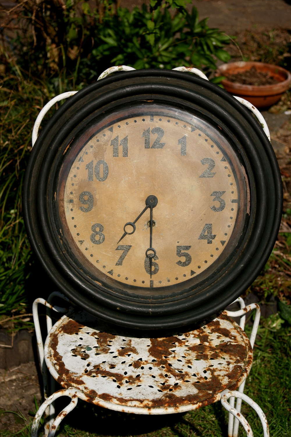 Crusty wooden Framed Period Clock