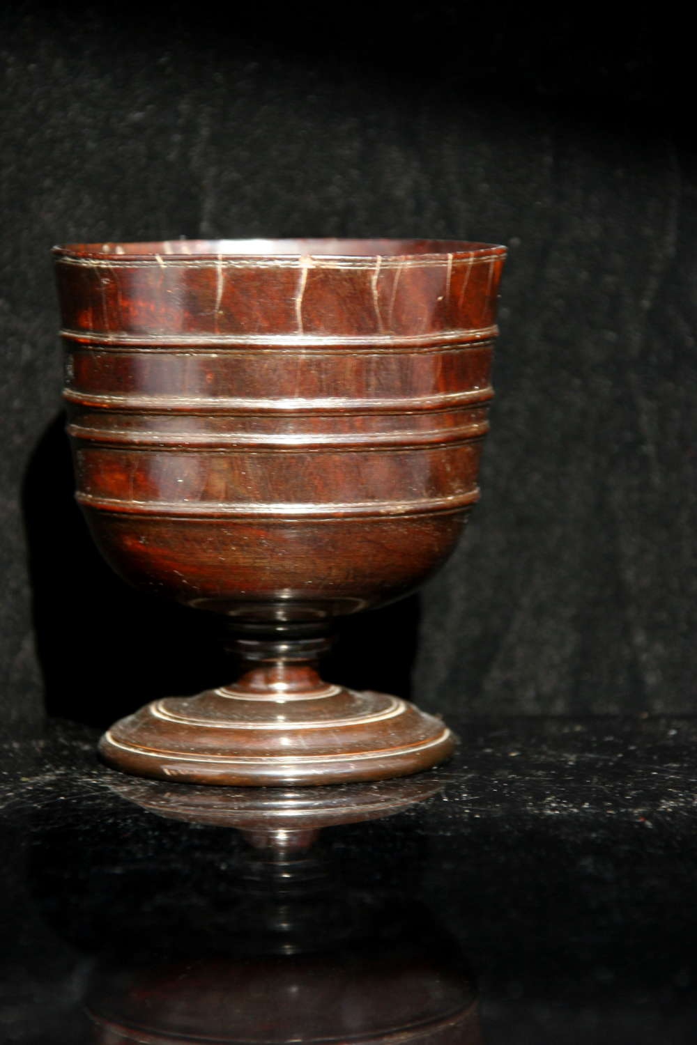 17th Century English  Treen Goblet
