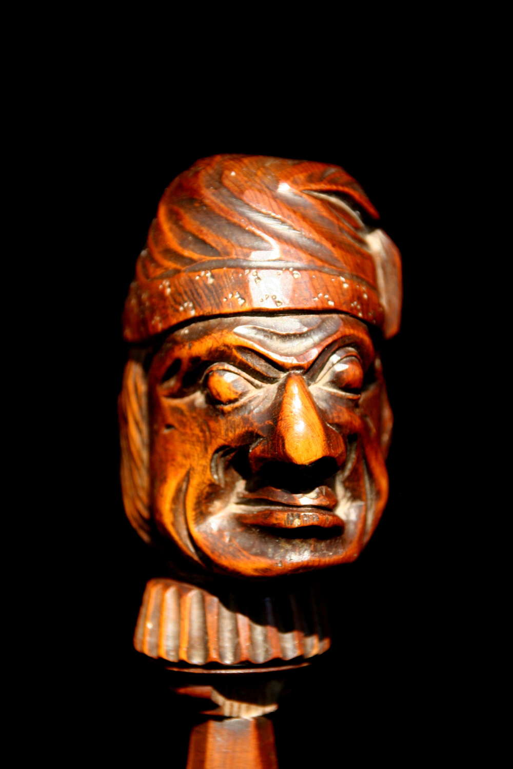 Treen Figural Nutcracker 19th century