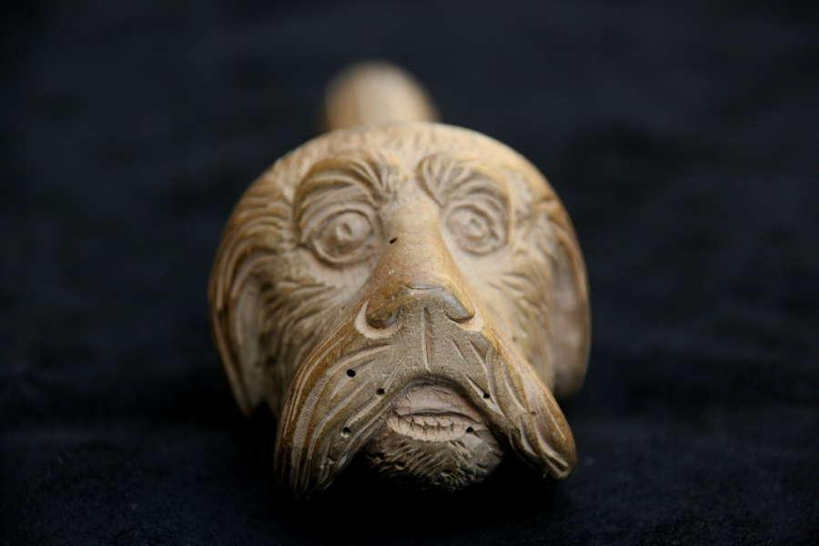 Treen Dog Nutcracker 19th century