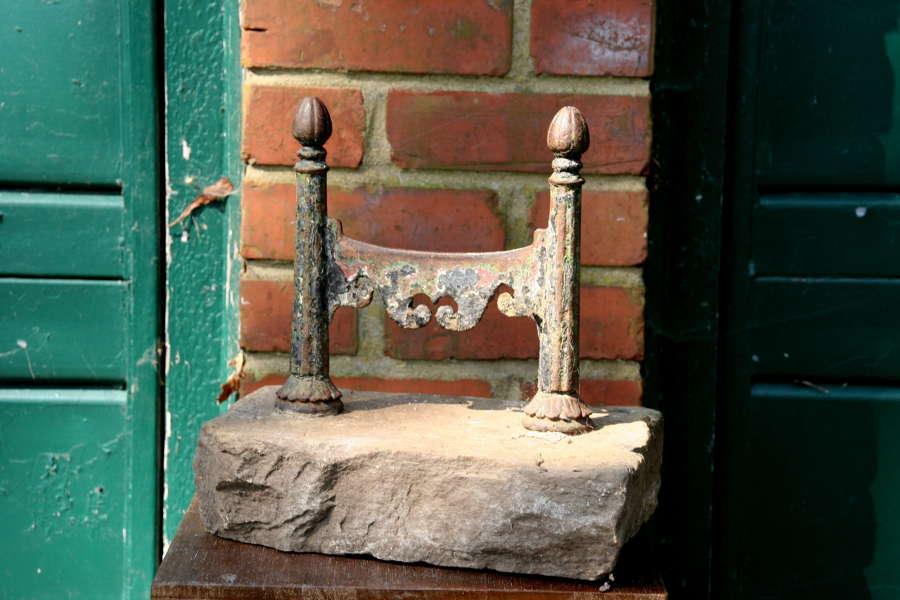 18th century Foot Scraper