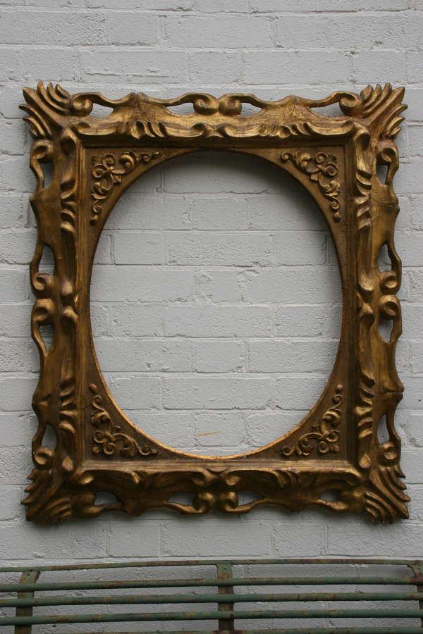 Large Italian 18th century Gilt Frame