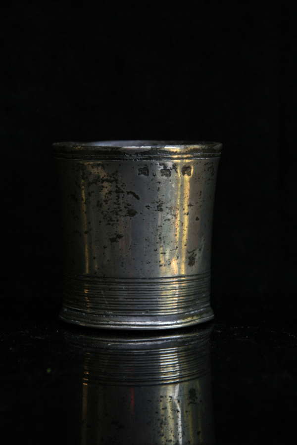 Pewter Beaker late 18th century