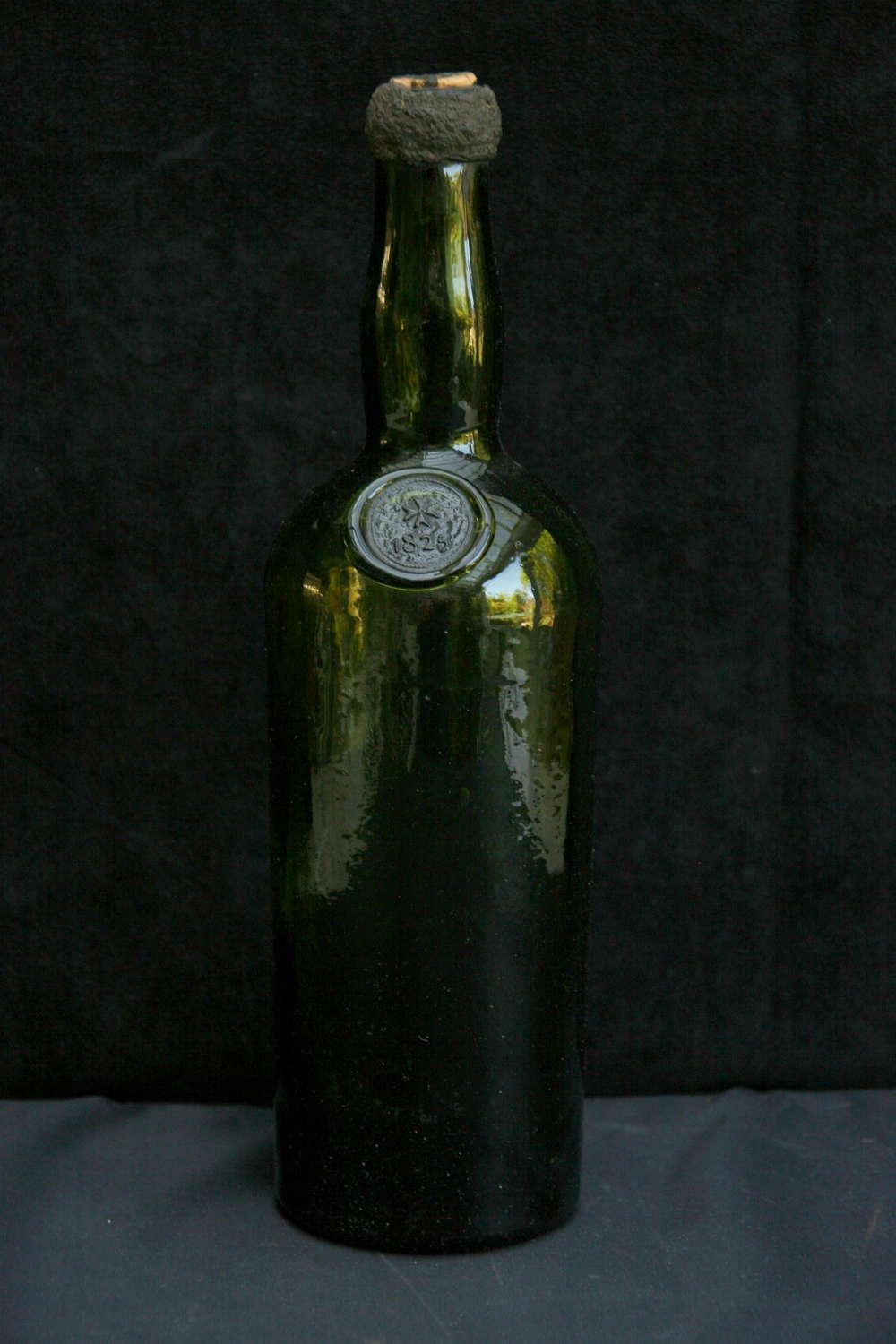 Old Glass Bottle late 19th century