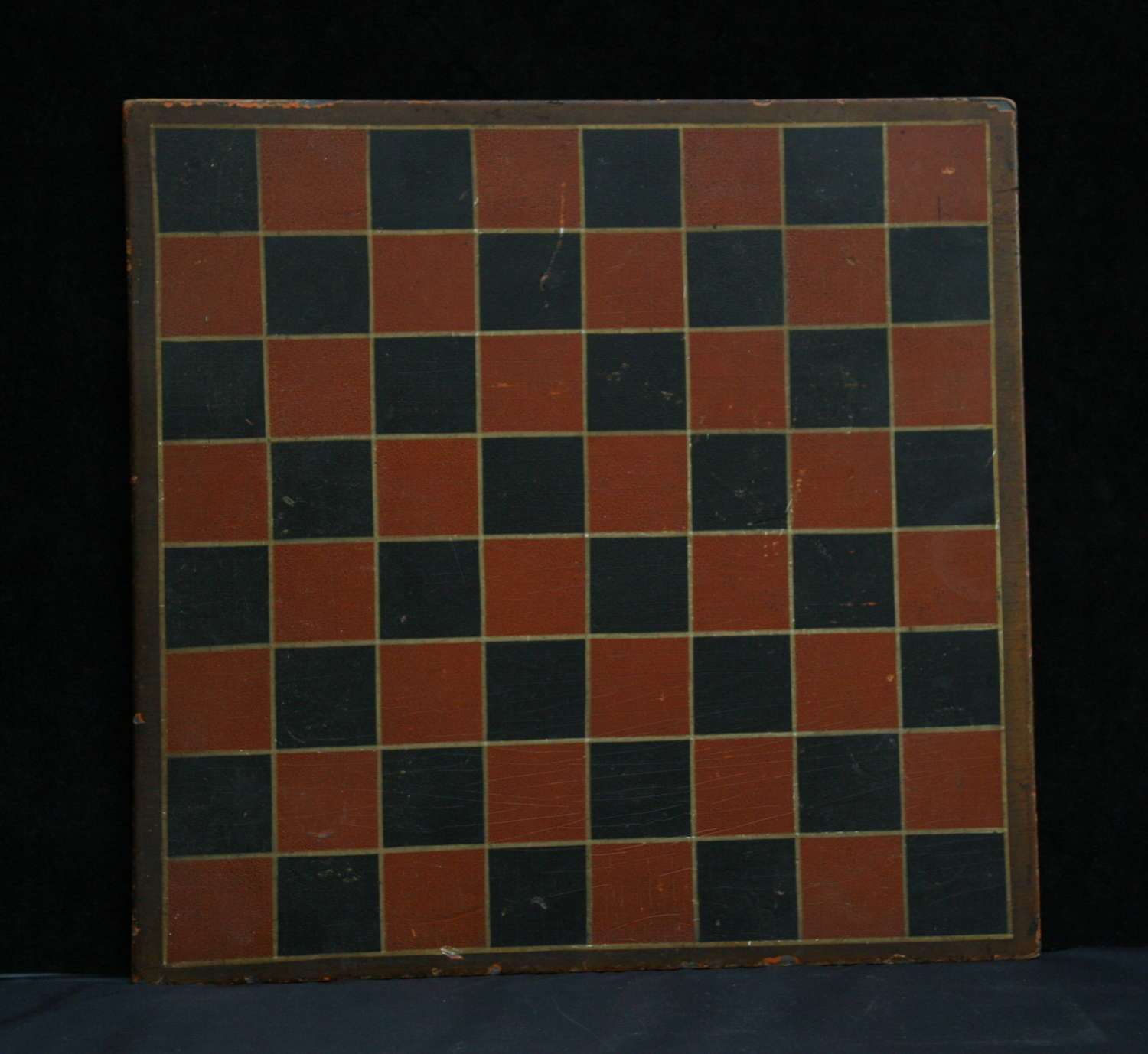Painted Wooden Games Board,