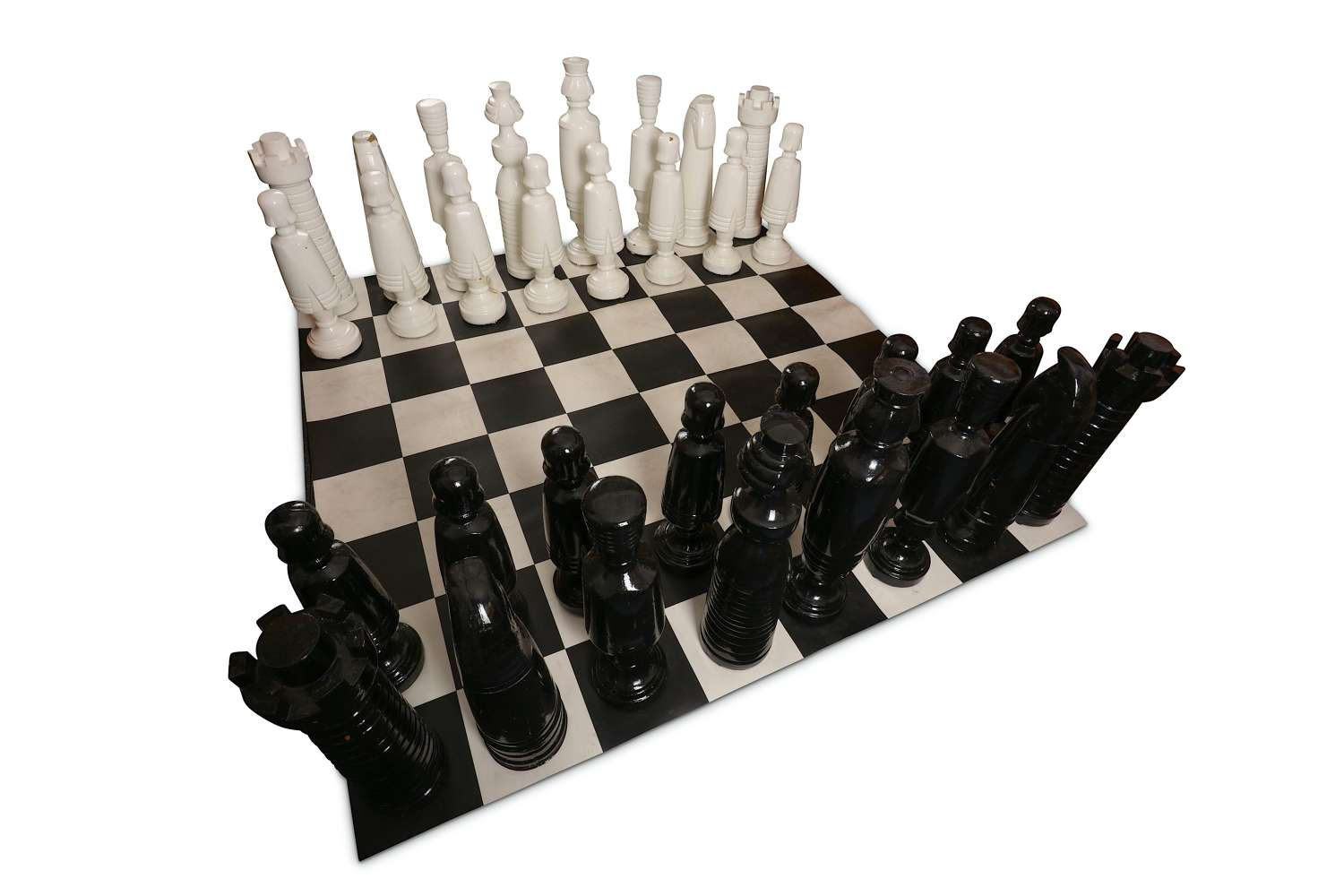 Large Garden / outdoor Chess Set and Board