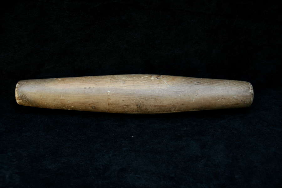 Treen English 19th century Rolling Pin