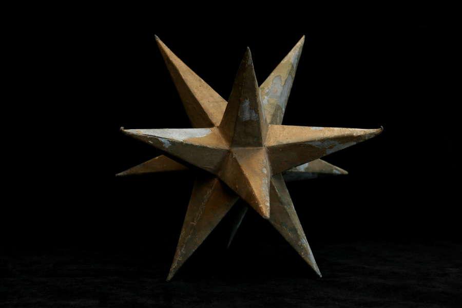 Zinc Star 19th century.