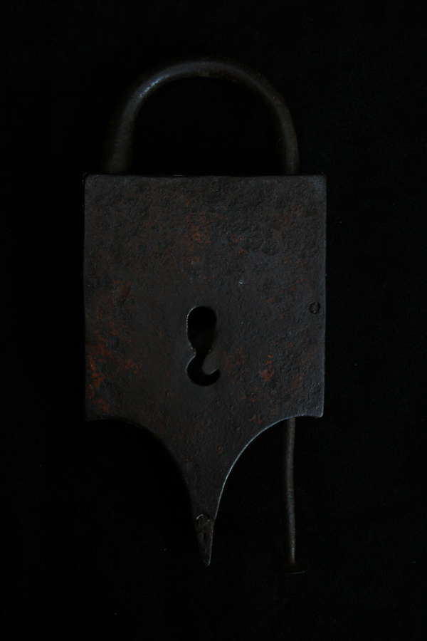 17th 0r 18th Century Shackle Tail Padlock
