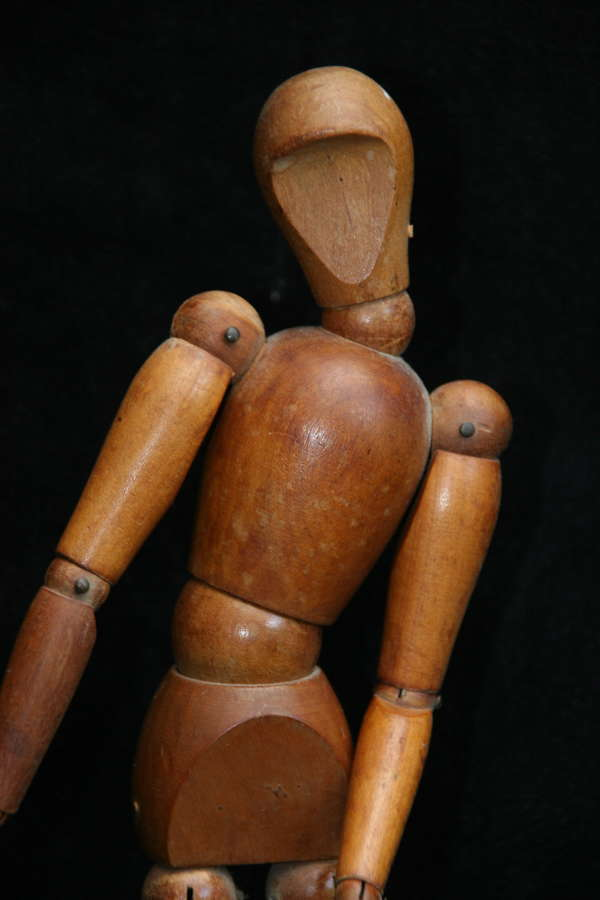 Treen Lay Figure / Model c.1950s