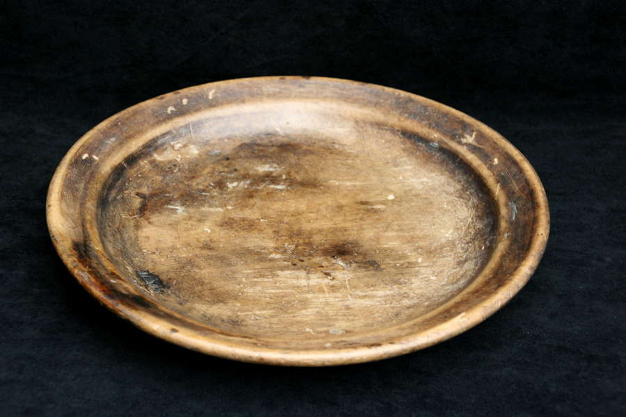 Swedish sycamore 19th century shallow Bowl