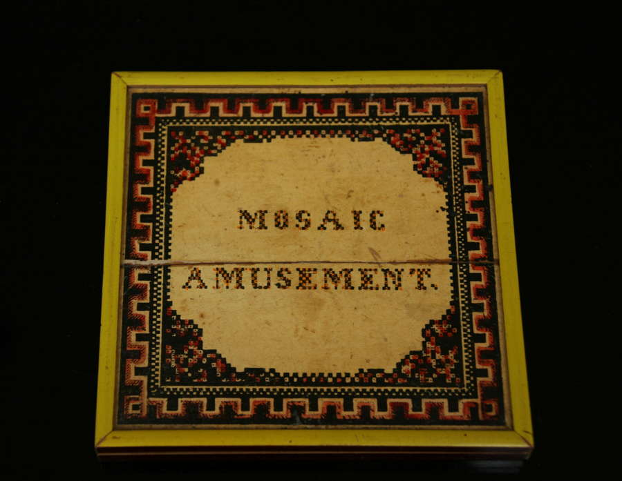 Mosaic Amusement Game 1855.