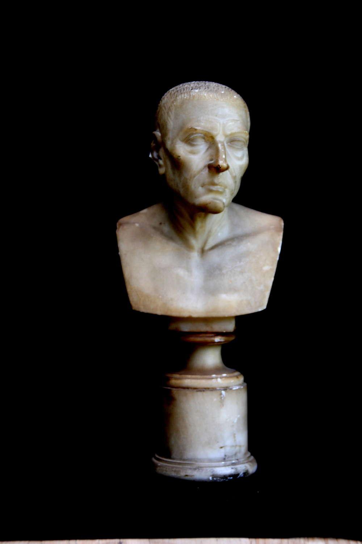 19th Century Alabaster Bust