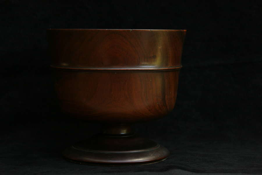 Treen 17th Century wassail Bowl