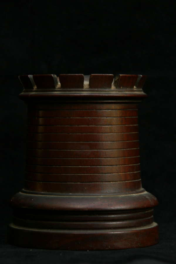 Treen Castle form String Box