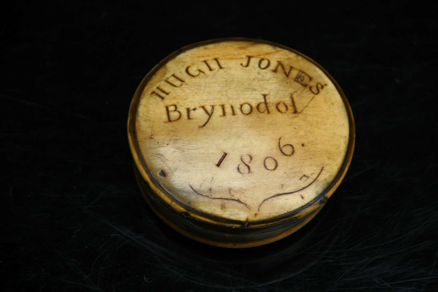 Welsh 19th century Snuff Box