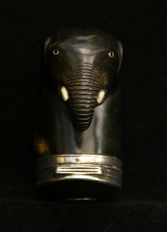 Scottish Elephant Head Snuff Mull