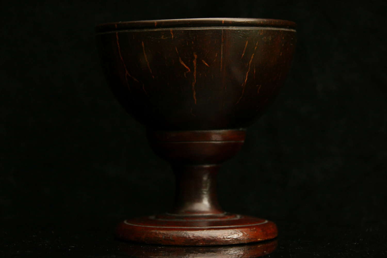 Treen Coconut Goblet early 19th century