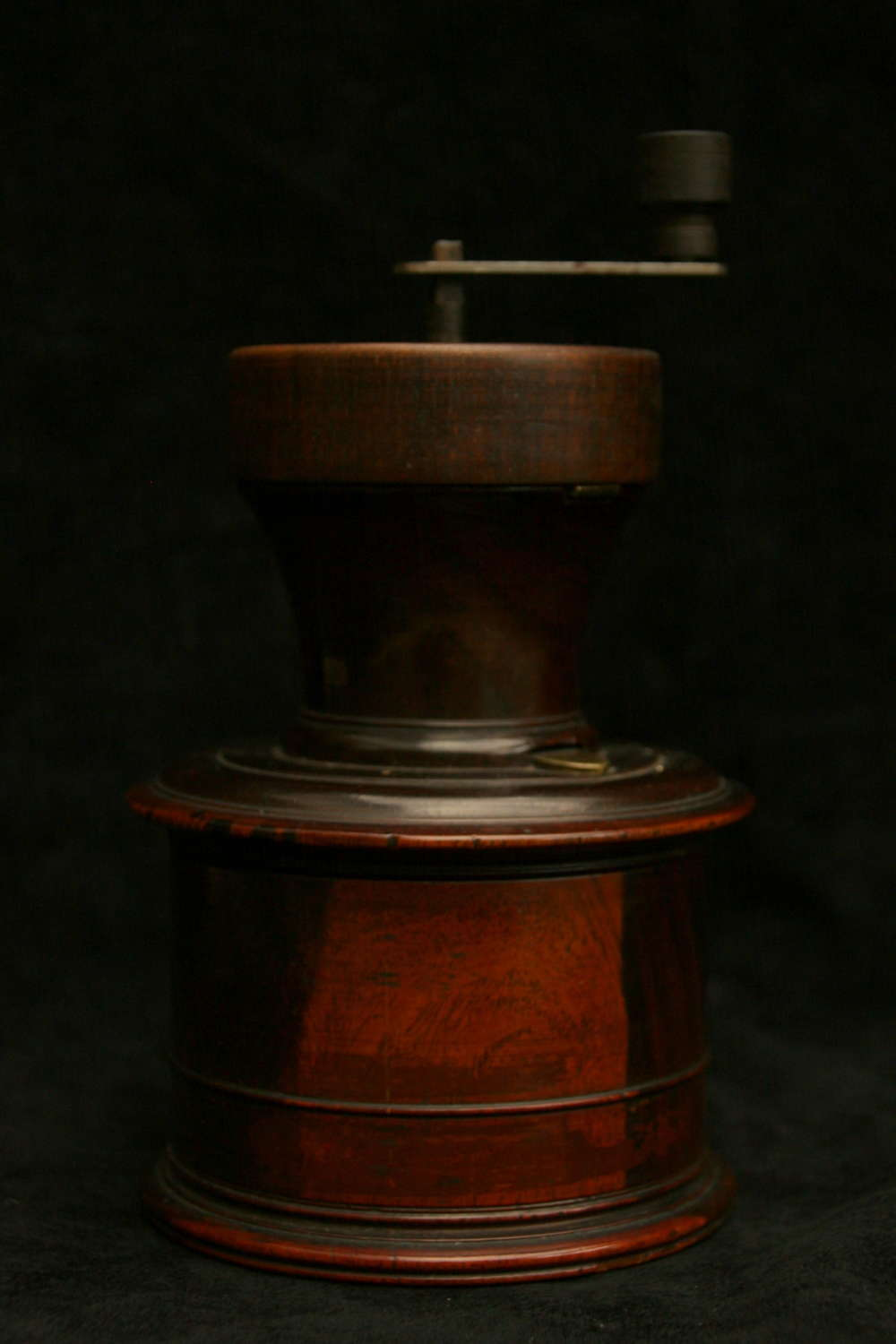 Treen English Coffee Grinder / Mill  c.1800