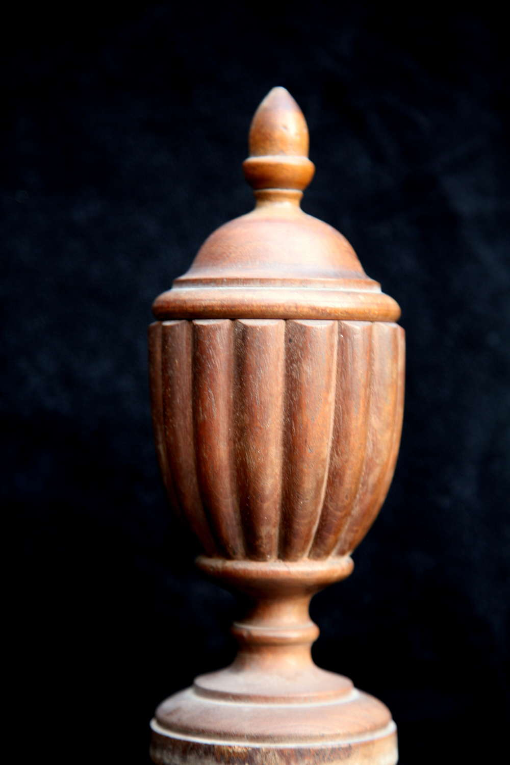 Treen Spice pot 19th century