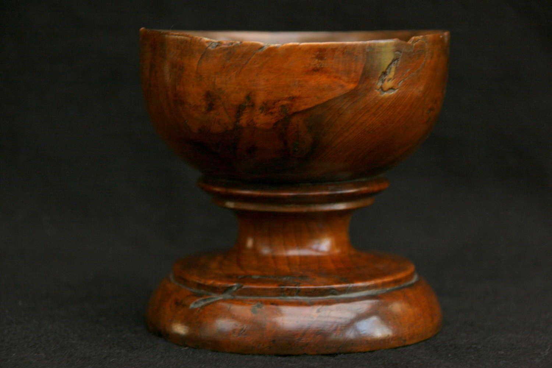 18th century Treen Salt