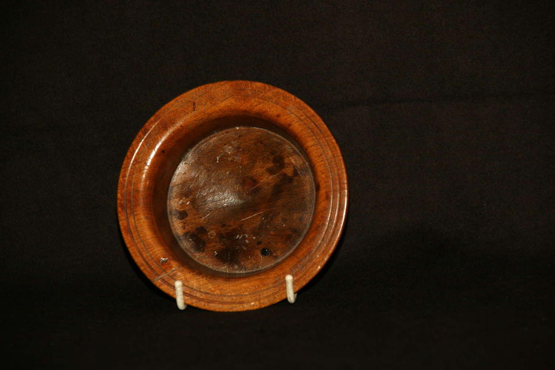 Treen Coaster early 19th century.