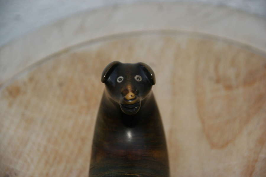 Dog Head Scottish Snuff Mull