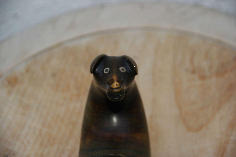 Dog Head Scottish Snuff Mull