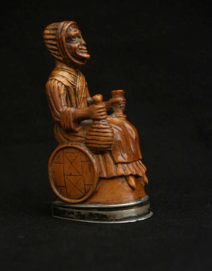 19th century Figural Snuff Box.