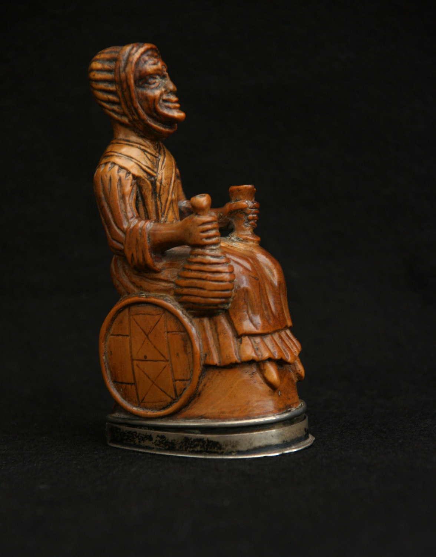 19th century Figural Snuff Box.