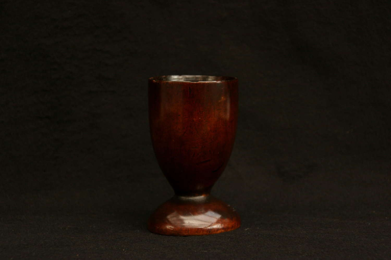 English Treen Goblet c.1650.