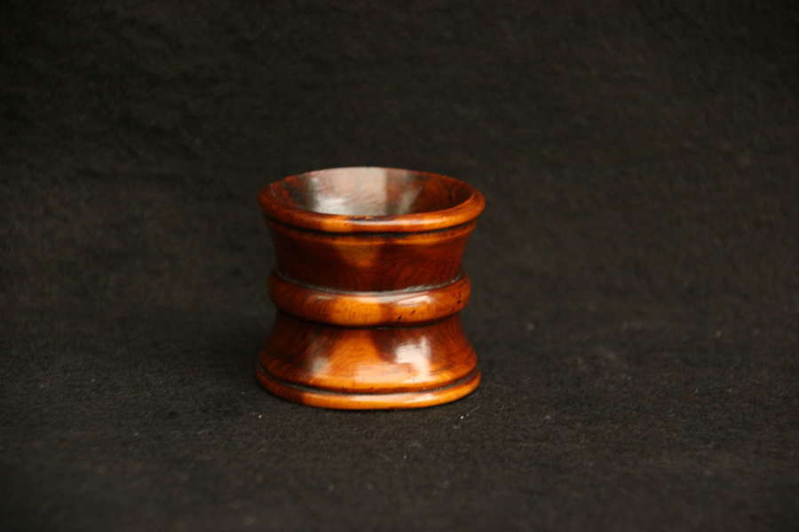 Treen napkin Ring holder 19th century