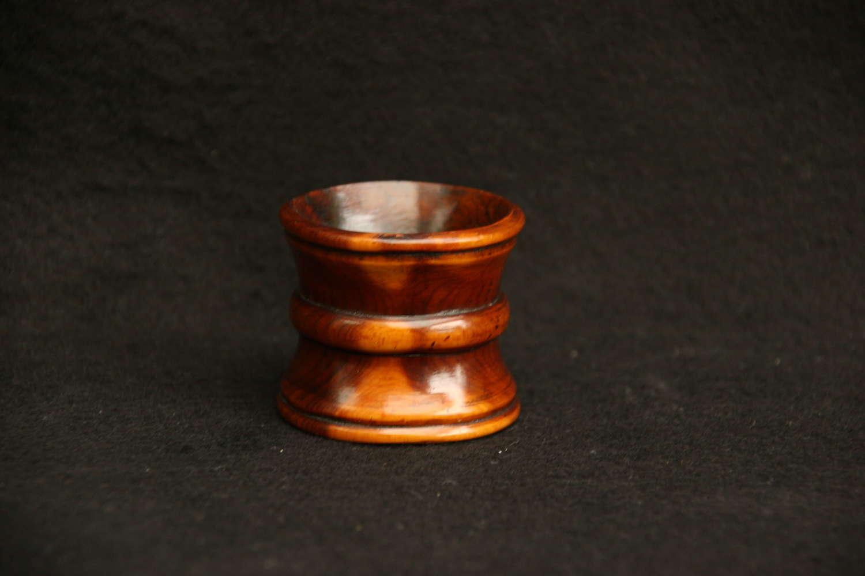 Treen napkin Ring holder 19th century