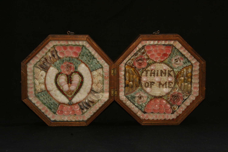 Shell Valentine c.1880.