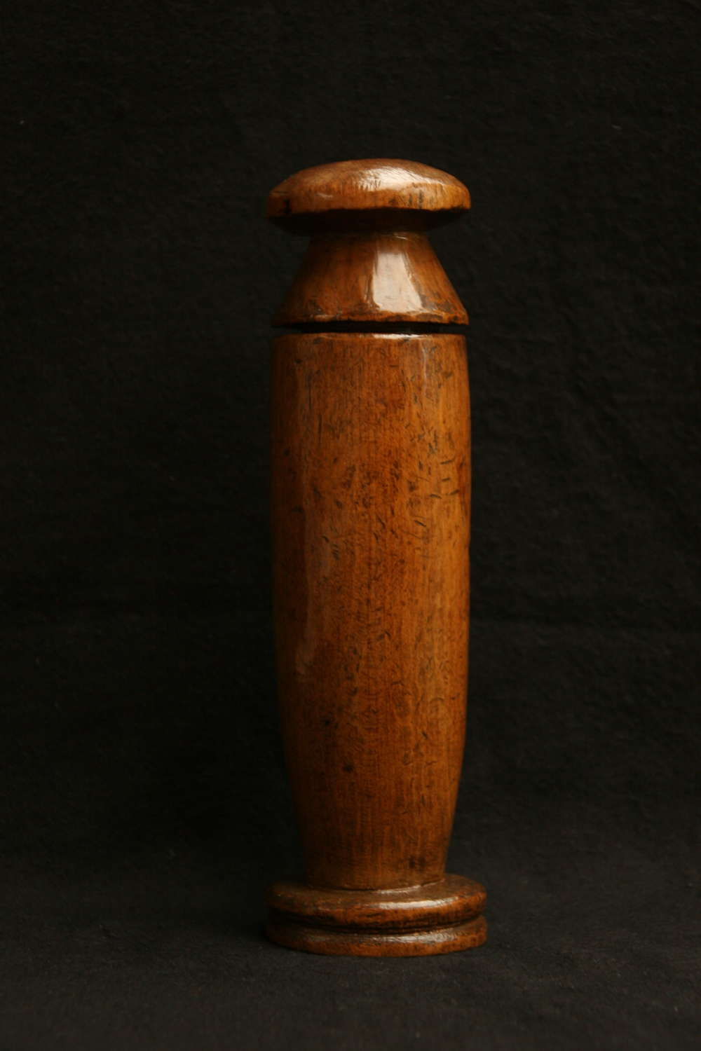 Treen  2 part Mortar Grater early 19th Century.
