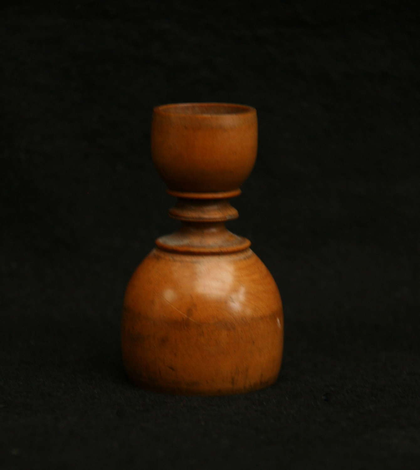 Treen Apothecary Double ended Measure 19th century