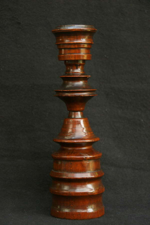 Treen Early 18th Century Candlestick