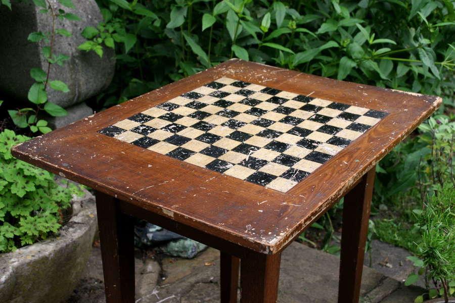 English Tavern Games Table, 19th century
