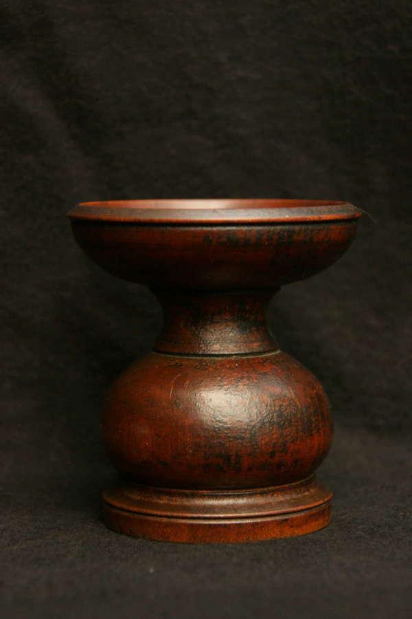 Treen Pounce pot early 19th century