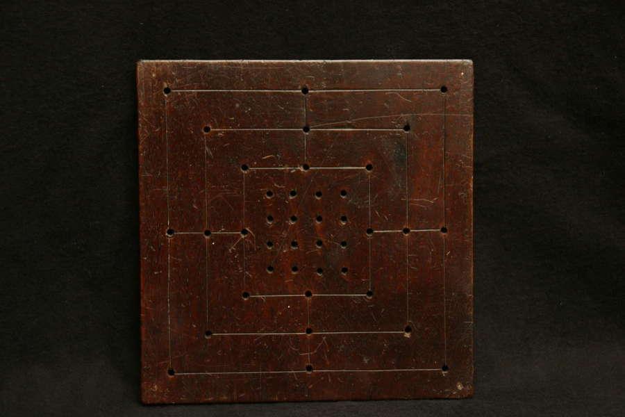 Mahogany Game board c.1800