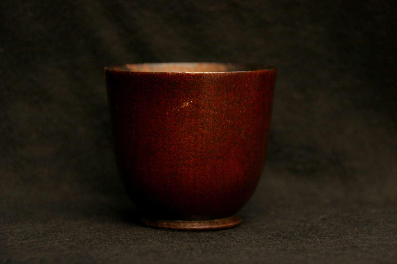 Mahogany Dipper Cup. c.1800